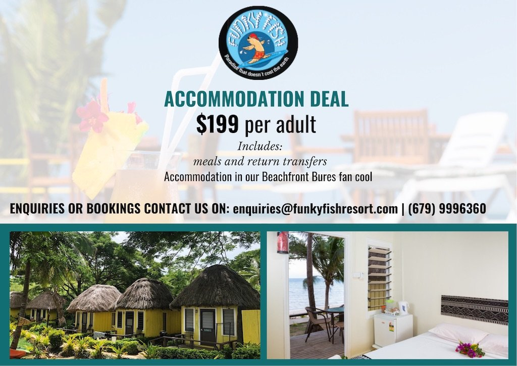 Funky Fish Accommodation Deal